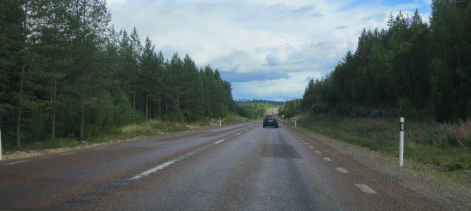 Rättvik – heading back toward Stockholm